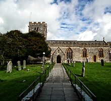 Uplyme Village Church. Devon UK by lynn carter