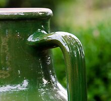 Green Jug by PhotoKismet