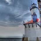 Michigan City Lighthouse, HDR by Matt Erickson
