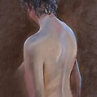 Life Drawing (Polished up a Bit) by Lynda Robinson