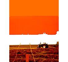 Imprint of an Iowa Field Photographic Print