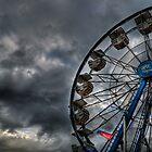 Storm Approaching the Fair by Matt Erickson