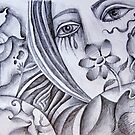 Sketchbook doodle by Karin Zeller