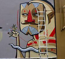 Sydney street art or Graffiti ? by Doug Cliff
