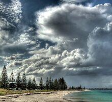 Cumulus Clouds In Esperance.  by Eve Parry