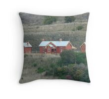 Carcoar Railway Station 1888 Throw Pillow