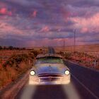 Lost Highway - Somewhere in the Murraylands, South Australia by Mark Richards
