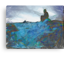 Sitting Quiet Canvas Print