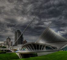 Stormy night at the museum by Matt Erickson