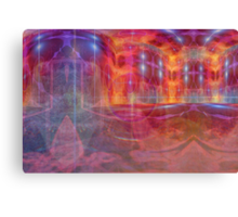 Palace of fire Canvas Print