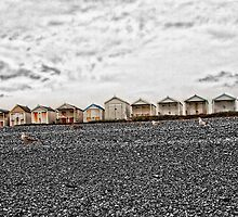Beach Huts - Normans Bay by Paul Morris