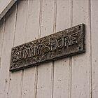 Sunny Shore beach Hut by Paul Morris