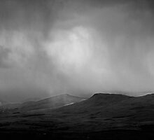 Storm over the North Pennines by Alan Roberts
