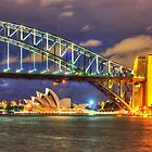 HDR Sydney Harbour Bridge by Preston Timmins