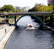 Tour boat on the Rideau Canal, Ottawa, ON by Shulie1