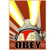 OBEY Version 1 Photographic Print