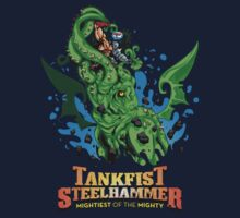 Tankfist Steehammer vs. Cthulhu! by Simon Sherry