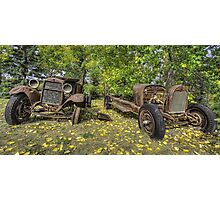 Rust in Peace HDR Photographic Print