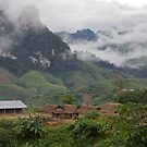 Mountain school, Kasi District, Luang Prabang, Laos by John Spies