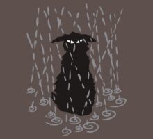Chat sous la pluie | Cat in the rain by meoise