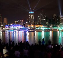 Santos Laser Light Show by Iconphotos