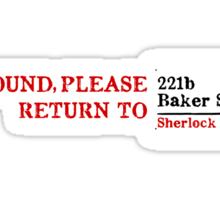 Lost Sherlock? Sticker