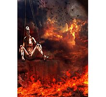 The Demise of a Puppet Photographic Print