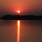 Sunrise Over the Alabama River by KimberlyBlack