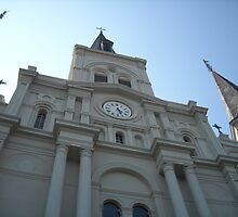 St. Louis Cathedral - New Orleans, LA by darktigerqueen