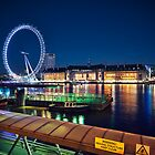 London Eye by fineartphoto1