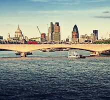 City of London by fineartphoto1