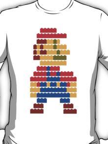 8-bit brick mario  T-Shirt