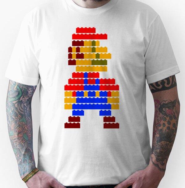8-bit brick mario  Unisex