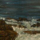 Breaking waves by Nicla Rossini