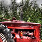 Indiana Tractor by Matt Erickson