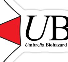 Umbrella Biohazard Countermeasure Service Sticker
