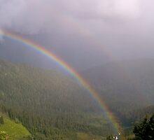 Double Rainbow by YogiColleen