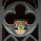 Mausoleum Stained glass Window by Martha Andreatos