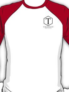 Torchwood Black Classic Logo and Name T-Shirt
