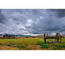 A storm is coming! Photographic Print