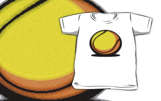 TENNIS MANIA by SOL  SKETCHES™