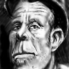 Tom Waits Caricature by Matt Bissett-Johnson