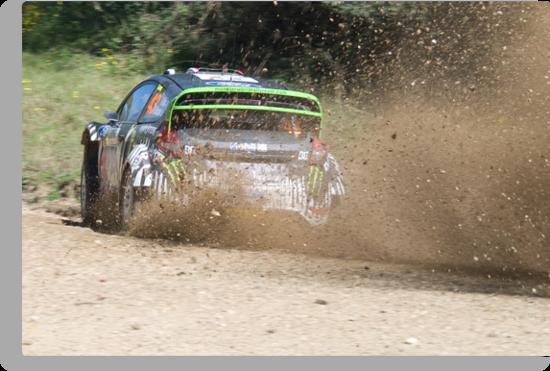 Ken Block, WRC Rally, Coffs Harbour, NSW, Australia 2011 by Adrian Paul