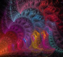 Calliope Abstract Fractal Art by Archetypus