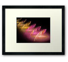 Choices Abstract Fractal Art Framed Print