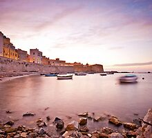 Calm sunset in Trapani bay by mosinski