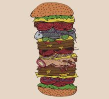 Ze Ultimate Burger by Octavio Velazquez