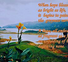 Hope Blossoms! (please see description) by Kanages Ramesh