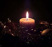 Christmas Candle by Jason Scott