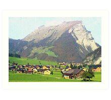 """""""Village - Reizlern, Austria"""" Art Print"""